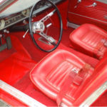 Driver footwell and seats
