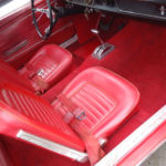 Interior seats and footwell