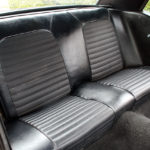 Rear black seats